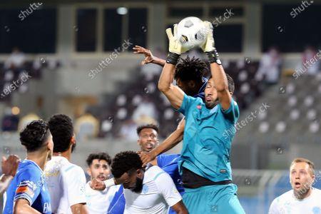 Editorial photo of Al-Hilal vs Al-Batin, Riyadh, Saudi Arabia - 14 May 2021