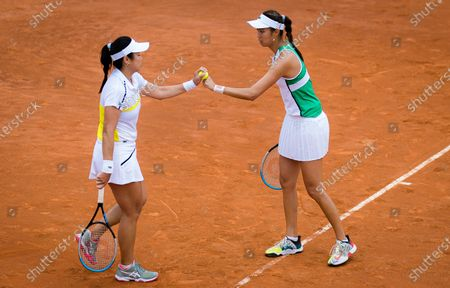 Editorial image of Tennis Internationals 2021 Internazionali BNL d'Italia, WTA 1000 tennis tournament, Rome, Italy - 14 May 2021