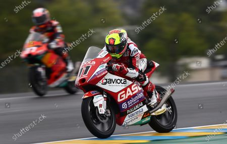 LE MANS CIRCUIT BUGATTI, FRANCE - MAY 14: Sergio Garcia, Aspar Team Moto3 at Le Mans Circuit Bugatti on Friday May 14, 2021 in Sarthe, France. (Photo by Gold and Goose / LAT Images)