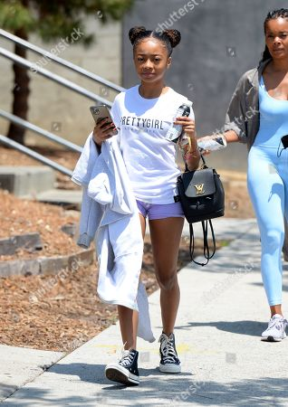 Editorial photo of Skai Jackson out and about, Los Angeles, California, USA - 14 May 2021