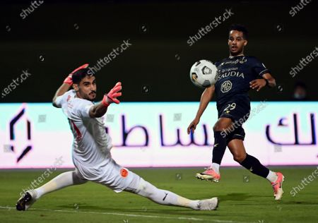 Editorial picture of Al-Ahli vs Al-Qadisiyah, Jeddah, Saudi Arabia - 14 May 2021