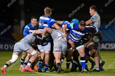 Editorial photo of Bath Rugby v Sale Sharks, UK - 14 May 2021