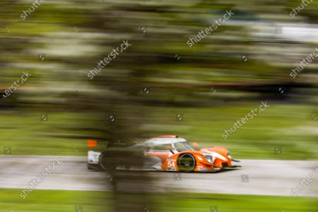 MID-OHIO SPORTS CAR COURSE, UNITED STATES OF AMERICA - MAY 14: #54: Core Autosport Ligier JS P320, LMP3: Jonathan Bennett, Colin Braun during the Mid-Ohio at Mid-Ohio Sports Car Course on May 14, 2021 in Mid-Ohio Sports Car Course, United States of America. (Photo by LAT Images)