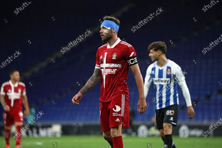 Jose Angel Jurado during the match between RCD Espanyol and FC Cartagena, corresponding to the week 39 of the Liga Smartbank, played at the RCDE Stadium on 14th May 2021, in Barcelona, Spain.
