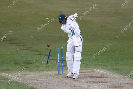 Editorial picture of Durham v Worcestershire - LV= Insurance County Championship, Chester Le Street, United Kingdom - 14 May 2021