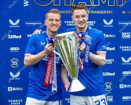 Editorial image of Rangers v Aberdeen, Scottish Premiership,  Football, Ibrox Stadium, Glasgow, UK - 15 May 2021