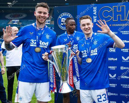 Editorial picture of Rangers v Aberdeen, Scottish Premiership,  Football, Ibrox Stadium, Glasgow, UK - 15 May 2021