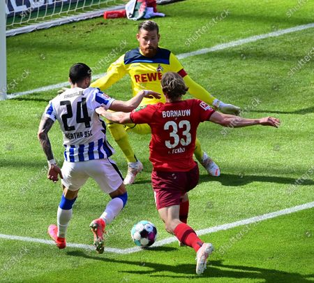 Editorial picture of Hertha BSC Berlin vs FC Cologne, Germany - 15 May 2021