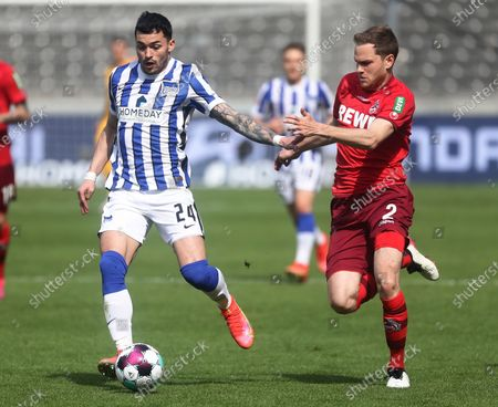 Editorial photo of Hertha BSC Berlin vs FC Cologne, Germany - 15 May 2021