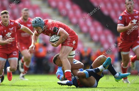 Editorial image of Scarlets v Cardiff Blues - Guinness PRO14 Rainbow Cup - 15 May 2021