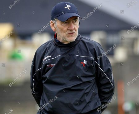 Louth vs Antrim. Louth Manager Mickey Harte