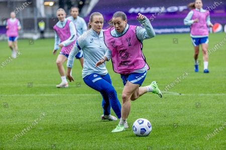 Editorial photo of Chelsea training, Gothenburg, Sweden - 15 May 2021