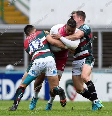 Editorial picture of Leicester Tigers v Harlequins, UK - 15 May 2021