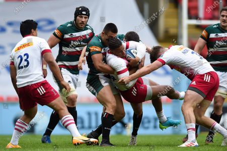 Editorial photo of Leicester Tigers v Harlequins, UK - 15 May 2021