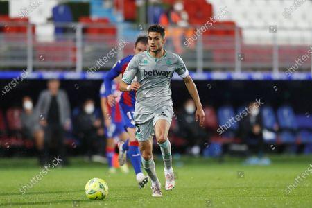 "Marc Bartra (Betis) - Football / Soccer : Spanish ""La Liga Santander"" match between SD Eibar 1-1 Real Betis Balompie at the Estadio Municipal de Ipurua in Eibar, Spain."