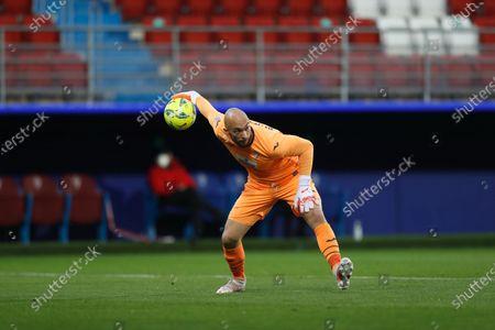 "Marko Dmitrovic (Eibar) - Football / Soccer : Spanish ""La Liga Santander"" match between SD Eibar 1-1 Real Betis Balompie at the Estadio Municipal de Ipurua in Eibar, Spain."