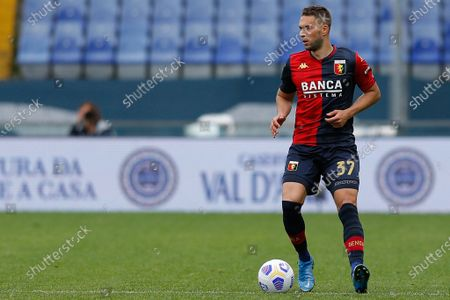 Stock Photo of Marko Pjaca (Genoa C.F.C.) in action