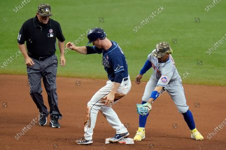 Editorial photo of Mets Rays Baseball, St. Petersburg, United States - 15 May 2021