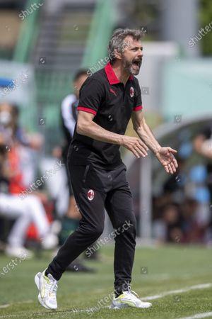 Editorial image of Soccer : Serie Womens  A 2020_2021 : Sassuolo Femminile 0-0 Milan Femminile, Sassuolo, Italy - 15 May 2021