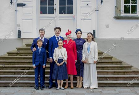 Editorial image of Prince Christian of Denmark confirmation, Fredensborg, Denmark - 15 May 2021