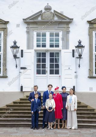 Editorial picture of Prince Christian of Denmark confirmation, Fredensborg, Denmark - 15 May 2021