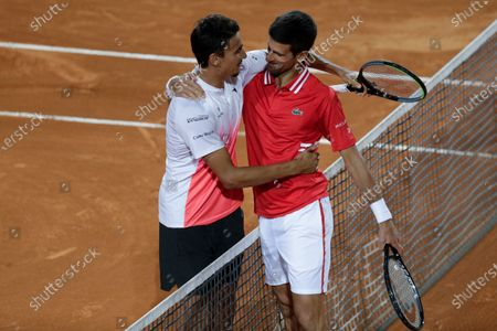 Editorial photo of Tennis Open, Rome, Italy - 15 May 2021