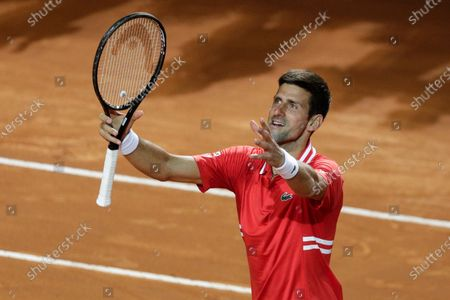 Editorial image of Tennis Open, Rome, Italy - 15 May 2021