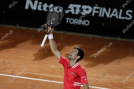 Editorial picture of Tennis Open, Rome, Italy - 15 May 2021