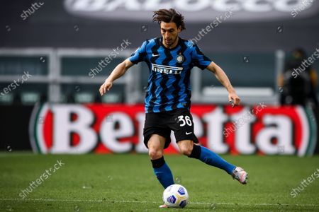 Inter defender Matteo Darmian (36) in action during the Serie A football match n.37 JUVENTUS - INTER on May 15, 2021 at the Allianz Stadium in Turin, Piedmont, Italy. Final result: Juventus-Inter 3-2. Sporting stadiums around Italy remain under strict restrictions due to the Coronavirus Pandemic as Government social distancing laws prohibit fans inside venues resulting in games being played behind closed doors.