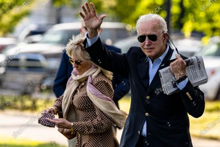 Editorial image of Biden Departs for Wilmington, Delaware, Washington, District of Columbia, USA - 15 May 2021