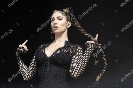 Editorial picture of Mala Rodriguez in concert, El Matadero, Madrid, Spain - 15 May 2021