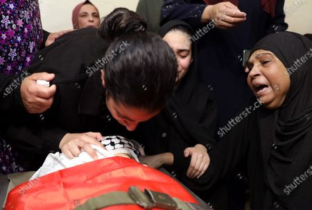 Editorial image of Funeral in the West Bank after clashes between Palestinians and the Israeli army, Hebron - 16 May 2021