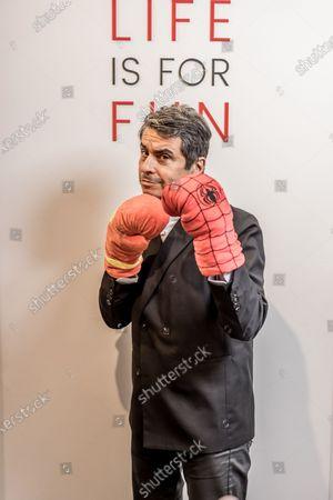 Editorial picture of Ariel Wizman photoshoot, Paris, France - 24 Mar 2021