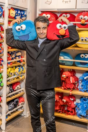 Stock Image of Former Canal+ journalist, Ariel Wizman, embarks on business. He obtained the exclusive franchise of the Chinese brand Miniso for France.