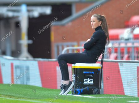 Editorial photo of Manchester United v Leicester City, Womens FA Cup, Leigh Sports Village Leigh, UK - 16 May 2021