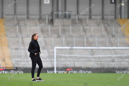 Editorial image of Manchester United v Leicester City, Womens FA Cup, Leigh Sports Village Leigh, UK - 16 May 2021