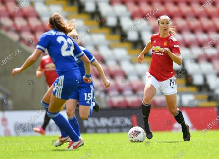 Editorial picture of Manchester United v Leicester City, Womens FA Cup, Leigh Sports Village Leigh, UK - 16 May 2021