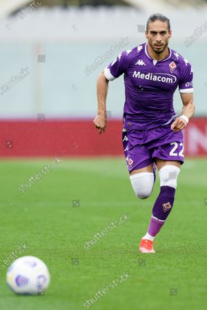 Martin Caceres of ACF Fiorentina during the Serie A match between ACF Fiorentina and SSC Napoli at Stadio Artemio Franchi, Florence, Italy on 16 May 2021.