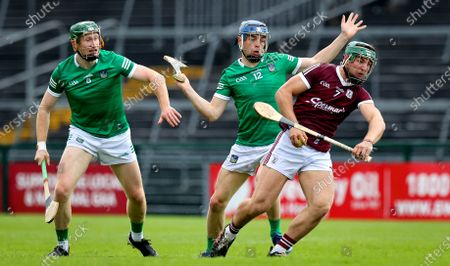 Stock Picture of Galway vs Limerick. Galway's Fintan Burke and David Reidy of Limerick