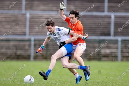 Editorial photo of Allianz Football League Division 1 North, Brewster Park, Fermanagh, - 16 May 2021
