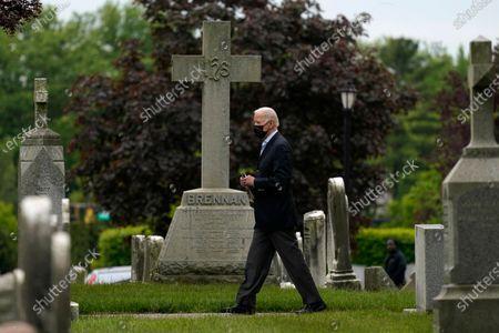 President Biden attends mass at St. Joseph on the Brandywine Catholic Church, Wilmington