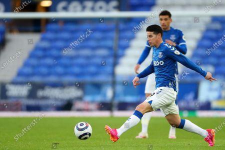 James Rodriguez of Everton