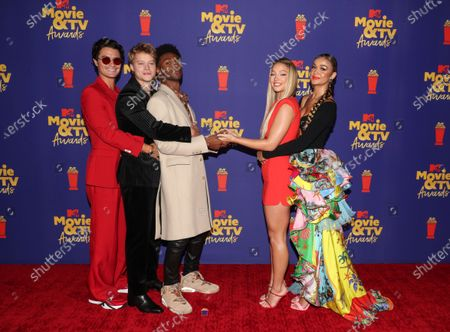 Editorial picture of MTV Movie & TV Awards, Arrivals, Los Angeles, California, USA - 16 May 2021