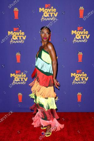 Editorial image of MTV Movie & TV Awards, Arrivals, Los Angeles, California, USA - 16 May 2021