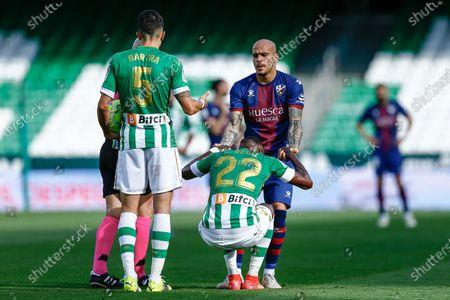 Editorial image of Real Betis v SD Huesca, LaLiga Santander, date 37. Football, Benito Villamarin Stadium, Sevilla, Spain - 16 MAY 2021