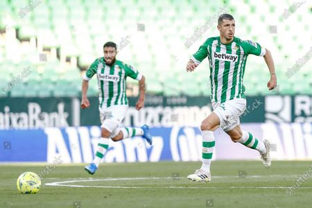 Guido Rodriguez and Nabil Fekir of Real Betis