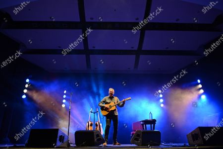 Stock Image of Tommy Emmanuel performs at the Old School Square Pavilion