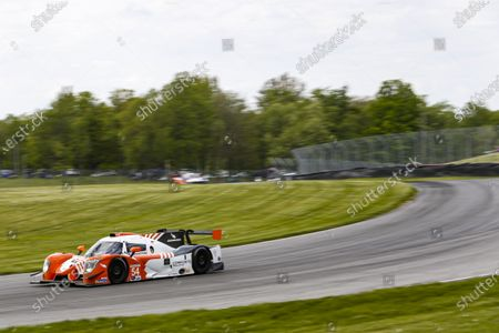 MID-OHIO SPORTS CAR COURSE, UNITED STATES OF AMERICA - MAY 16: #54: Core Autosport Ligier JS P320, LMP3: Jonathan Bennett, Colin Braun during the Mid-Ohio at Mid-Ohio Sports Car Course on May 16, 2021 in Mid-Ohio Sports Car Course, United States of America. (Photo by Jake Galstad / LAT Images)