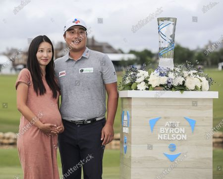 Editorial image of AT&T Byron Nelson golf tournament, Mckinney, USA - 16 May 2021