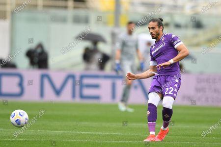"Jose Martin Caceres Silva (Fiorentina)                                         during the Italian ""Serie A"" match between Fiorentina  0-2 Napoli  at Artemio Franchi Stadium in Florence, Italy."